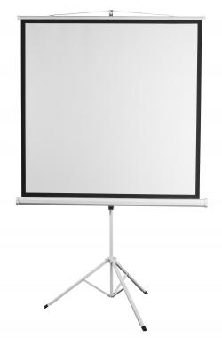 """Екран 2E на тринозі, 1:1, 80"""", (1.45*1.45 м)"""