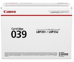 Картридж Canon 039 LBP351/352 Black (11000 стр)