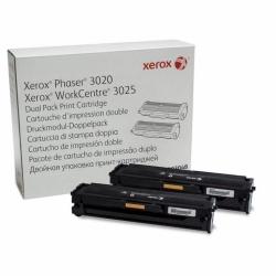 Картридж Xerox PH3020/WC3025 Black (2*1500 стр) Двойная упаковка