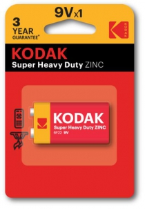 Батарейка Kodak LongLife 6F22
