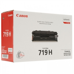 Картридж Canon 719H LBP6300/6310/6650/6680/6670/5840/5880/5940/5980/6140/6180 Black (6400 стр)