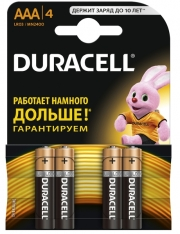 Батарейка Duracell LR03 MN2400 1x4 шт.