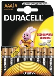 Батарейка Duracell LR03 MN2400 1x8 шт.
