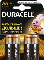 Батарейка Duracell LR06 MN1500 1x4 шт.