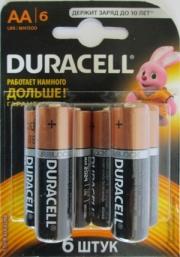 Батарейка Duracell LR06 MN1500 1x6 шт.