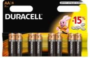 Батарейка Duracell LR06 MN1500 1x8 шт.