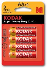 Батарейка Kodak LongLife R 6 1x4 шт.