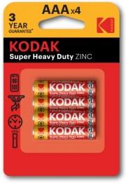 Батарейка Kodak EXTRA HEAVY DUTY R3 1x4 шт.