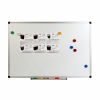 Дошка магнітно-маркерна, алюм.рамка, 90х120