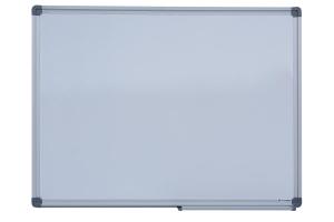 Дошка магнітна для письма маркером JOBMAX, 45х60см, алюмінієва рамка Buromax