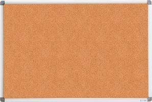 Дошка коркова, 60x90см, алюмінієва рамка Buromax BM.0017