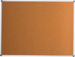 Дошка коркова, 90x120см, алюмінієва рамка Buromax