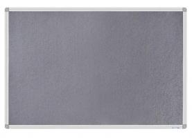 Дошка магнітно-текстильна, 60x90см, алюмінієва рамка Buromax