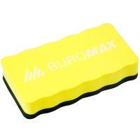 Губка магнітна для сухої очистки маркерної дошки з магнітом, асорті Buromax