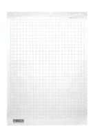 Блок паперу для фліпчартів, 10 арк. клітинка, 64 х 90см. Buromax