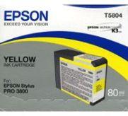 Картридж Epson StPro 3800 yellow