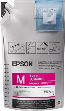 Чернила Epson для SC-F6000/7000 UltraChrome DS Magenta (1Lx6packs)