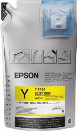 Чернила Epson для SC-F6000/7000 UltraChrome DS Yellow (1Lx6packs)
