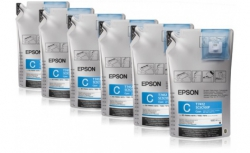 Чернила Epson для SC-B6000/B7000 Cyan (1Lx6packs)