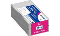 Картридж Epson SJIC22P TM-C3500 Magenta