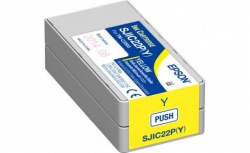 Картридж Epson SJIC22P TM-C3500 Yellow