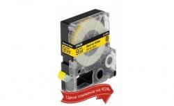 Картридж с лентой Epson LK3YBP принтеров LW-300/400/400VP/700 Pastel Blk/Yell 9mm/9m