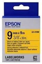 Картридж с лентой Epson LK3YBW принтеров LW-300/400/400VP/700 Strng adh Blk/Yell 9mm/9m