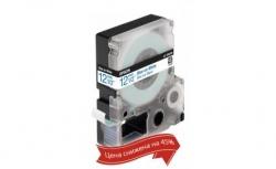 Картридж с лентой Epson LK4WLN принтеров LW-300/400/400VP/700 Std Blue/Wht 12mm/9m