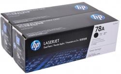 Картридж HP 78A LJ P1566/1606/M1536 Black (2*2100 стр) Двойная упаковка