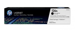 Картридж HP 126A CLJ CP1025/M175/M275 Black (2*1200 стр) Двойная упаковка