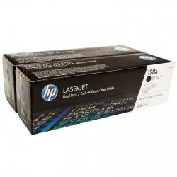 Картридж HP 128A CLJ CP1525/CM1415 Black (2*2000 стр) Двойная упаковка