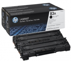 Картридж HP 83A LJ M125/M127/M201/M225 Black (2*1500 стр) Двойная упаковка