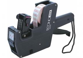 Етикет-пістолет Economix (маркіратор), 1 ряд, 8 розрядів (етикетка 21x12 мм)