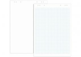 Блокнот для фліпчарту Optima, 20 арк., розмір 640х900 мм, 70г/м2, білий O75306