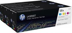Картридж HP 131A CLJ M276/M251 (CF211A,CF212A, CF213A) CYM (3*1800 стр) Тройная упаковка