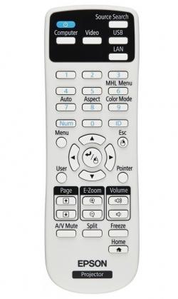Проектор Epson EB-W05 (3LCD, WXGA, 3300 ANSI lm)
