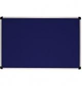 Дошка текстильна 90х120 см. Колір-синій ABC