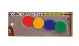 Набір магнітів, діам.-32 мм, 4 шт., Блістер ABC