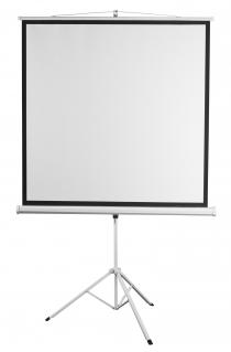 """Екран 2E на тринозі, 1:1, 112"""", (2.0*2.0 м)"""