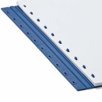Пластины Press-binder 17мм бел, уп/50