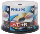 PHILIPS DVD+R 4,7Gb 120min 16x Cake box 50