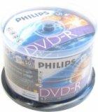 PHILIPS DVD-R 4,7Gb 120min 16x Cake box 50