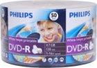 DVD+/-R PHILIPS DVD-R 4.7Gb/16x Bulk 50 Printable