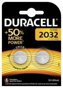 Батарейка Duracell DL2032 DSN 2шт.