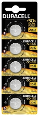 Батарейка Duracell DL2032 DSN уп. 5шт.