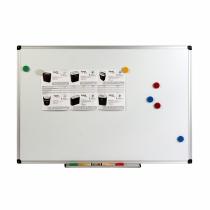 Дошка магнітно-маркерна, алюм.рамка, 45x60