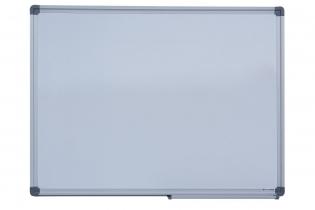 Дошка магнітна для письма маркером JOBMAX, 45х60см, алюмінієва рамка Buromax BM.0001