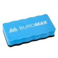 Губка магнітна для сухої очистки маркерної дошки з магнітом, синій Buromax BM.0074-02