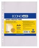 "Файл для документів А4+Economix, 40 мкм, фактура ""помаранч"" (100 шт/уп) ECONOMIX"