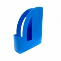 Лоток для паперів вертикальний Economix, пластик, синій